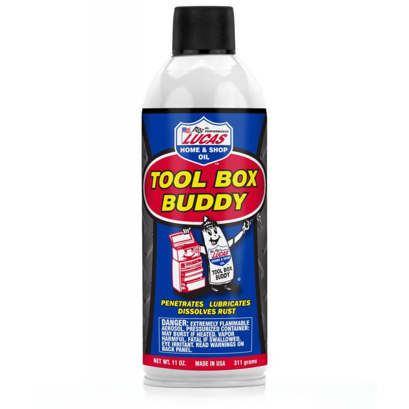 Lucas Tool Box Buddy Penetrating Spray 414 ml
