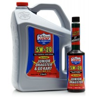 Lucas oil Synthetic 5W-20 Junior Dragster and Go Kart Racing Oil