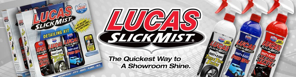 Lucas Oil Slick Mist spraywax